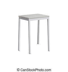 stool isolated on white