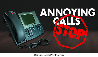 Stop Annoying Telemarketing Sales Calls Words - Stop ...