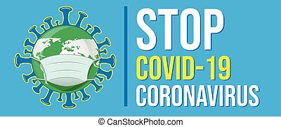 stop cartel covid19 coronavirus pandemic background