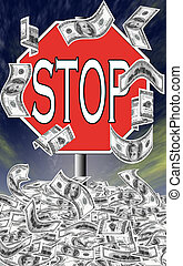 Stop deficit spending - The United States have accumulated ...