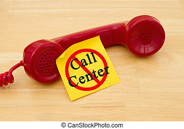 Stop getting a call from a Call Center