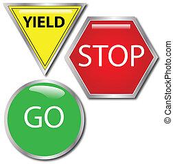 Stop-Go-Yield