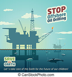 Stop offshore oil drilling - Stop deep sea oil drilling and...