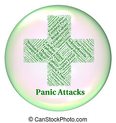 Stop Panic Represents Poor Health And Affliction