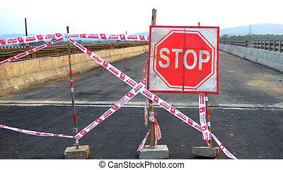 stop, pont