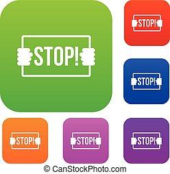 Stop set color collection