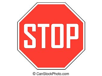 stop sign traffic on the road