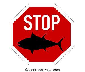 Stop sign tuna