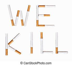Stop smoking conceptual image