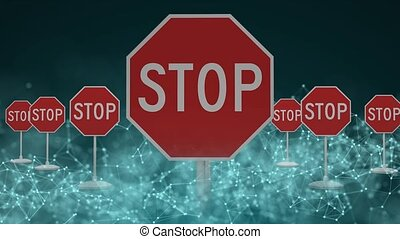 Stop technological development. Place of prohibition of technological development