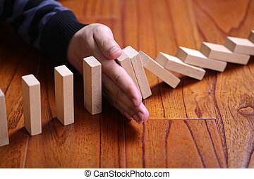 Stop The Domino Effect