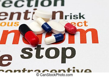 Stop using pills