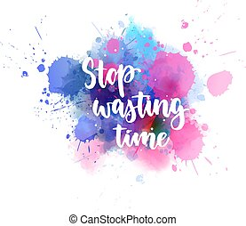 Stop wasting time handlettering calligraphy