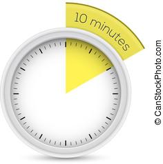 10 stop watch minutes minuteur 10 vecteur minutes - Minuteur 10 minutes ...