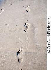 stopa nadrukowuje