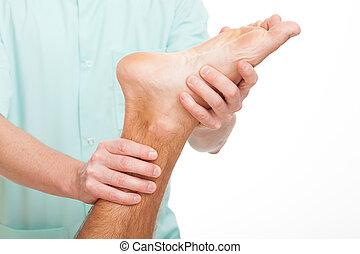 stopa, rehabilitacja