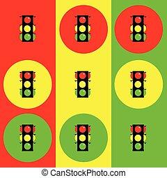 stoplight illustration