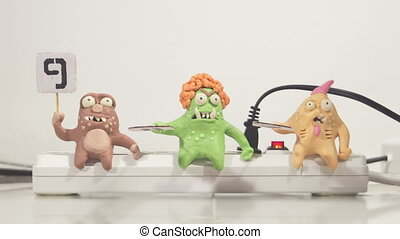 stopmotion animation monster jury - stopmotion animation...