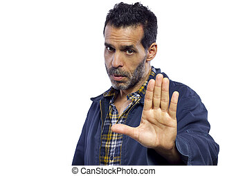 stoppa gesten