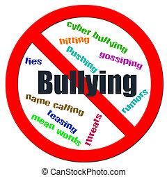 stoppen, bullying