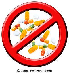 stoppen, drugs!