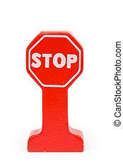 stoppskylten
