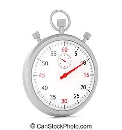 stopwatch 3d illustration