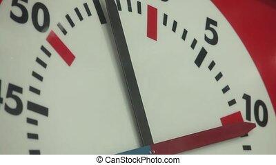 Stopwatch arrows rotate