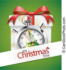Stopwatch - Christmass time