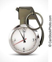 Stopwatch - deadline concept