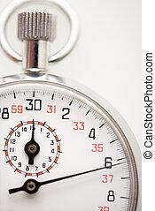 Stopwatch. - Detail of stopwatch.
