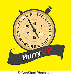 stopwatch - hurry UP