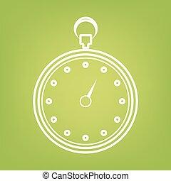 Stopwatch line icon