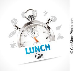 Stopwatch - lunch time