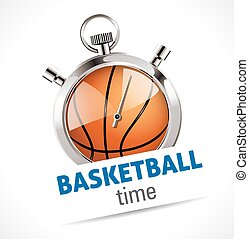 Stopwatch - Sport Basketball time