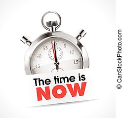 Stopwatch - the time is now