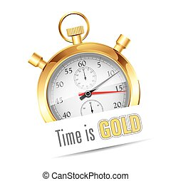 Stopwatch - Time is gold