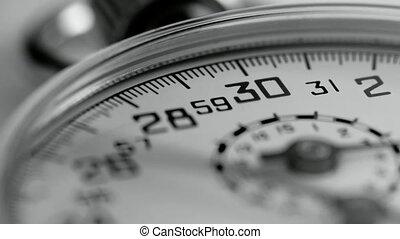 Stopwatch Timelapse - Timelapse of Stopwatch / Studio-...