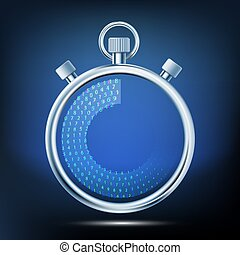 Stopwatch to measure time intervals