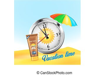 Stopwatch - Vacation time