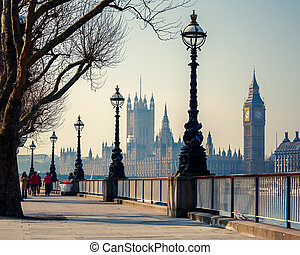 stor ben, og, parlament huse, london