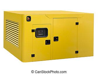 stor, generator