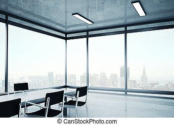 stor, kontor