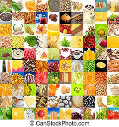 stor, samling, i, mad, (set, i, 100, images)