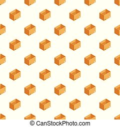 Storage box pattern seamless vector