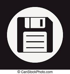 storage disk icon