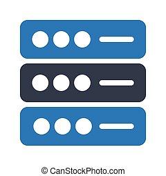 storage glyph color icon