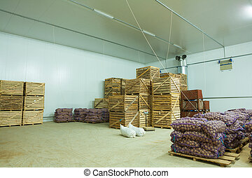 storage house potato