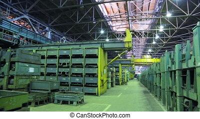 Storage shop at machine works