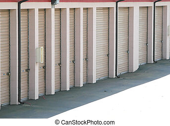 Isolated storage units to house personal, and commercial goods.